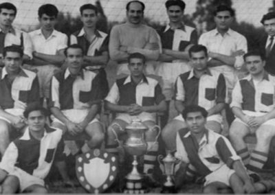 winner of nazareth bros. cup ali bros. cup and dev dutt shield 1957